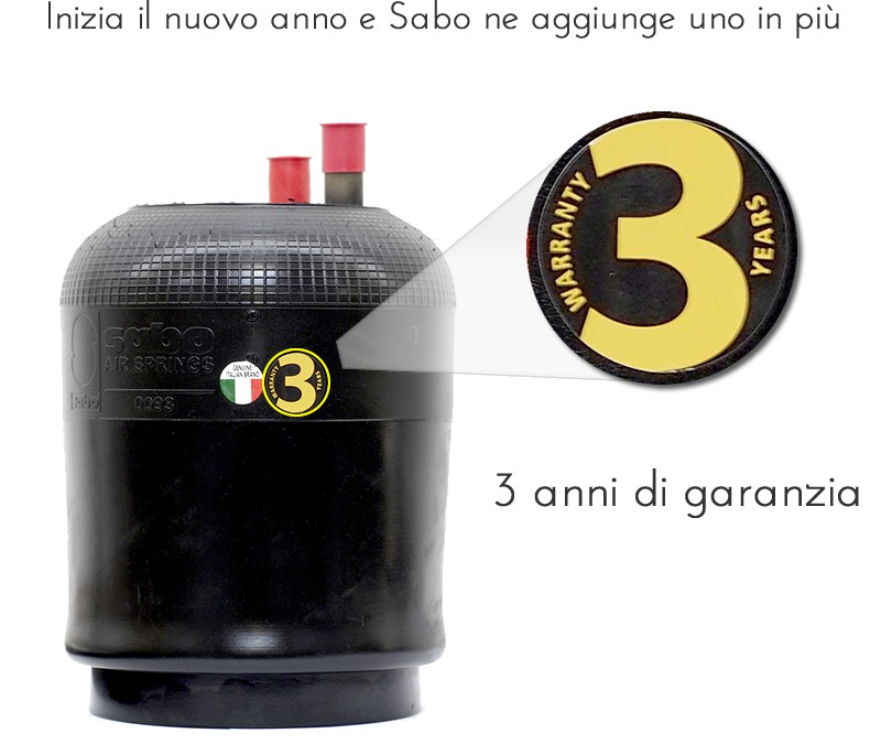 Sabo Air Springs with 3 years of warranty