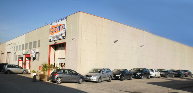Sabo in Italy, Spare Parts Centre (Naples)
