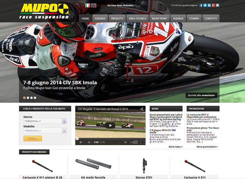 New graphics for the mupo.it website