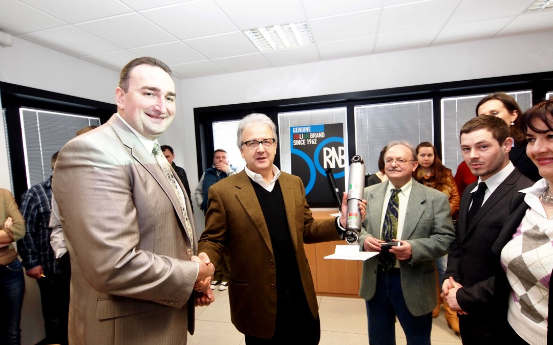 A delegation from Belarus on tour in the Land of Motors